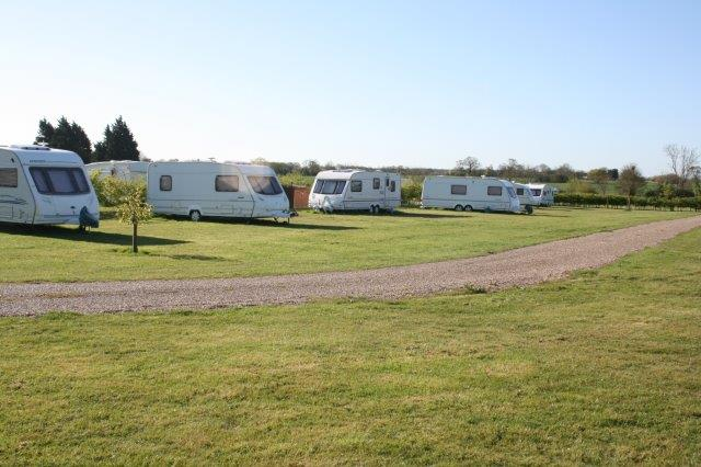 Spacious Sited van pitches