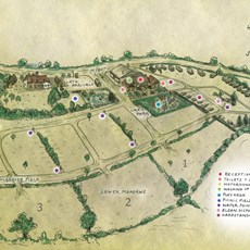 Haw Wood Farm Map