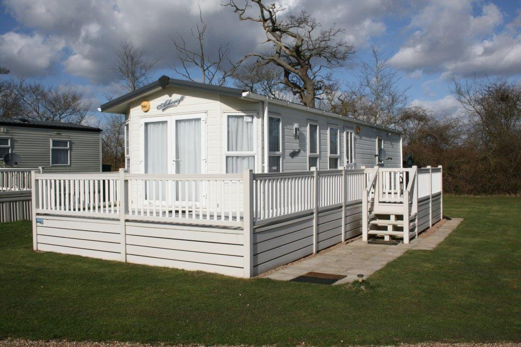 A Beautifully maintained Caravan and Plot